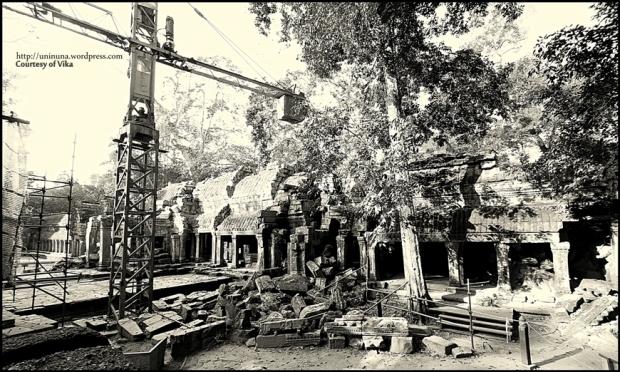 Ta Phrom #7 - renovasi